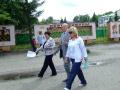 Волейбольную площадку возле школы решено тоже задействовать