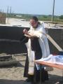 31 июля 2008 г. Освящение закладки храма 16