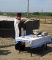 31 июля 2008 г. Освящение закладки храма 2
