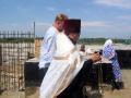 31 июля 2008 г. Освящение закладки храма 24