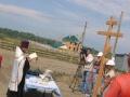 31 июля 2008 г. Освящение закладки храма 1
