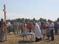 31 июля 2008 г. Освящение закладки храма 6