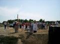 В Верх-Обском освятили фундамент храма 5