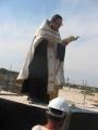 31 июля 2008 г. Освящение закладки храма 14