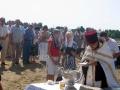 31 июля 2008 г. Освящение закладки храма 3