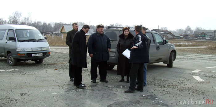 На месте будущего Храма в 2008 году