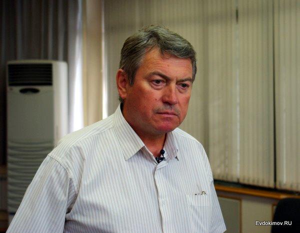 Сергей Чегодаев дает интервью каналу