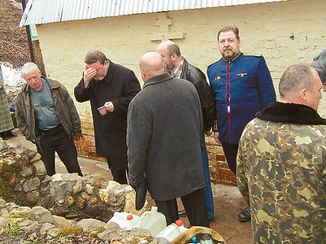 Источник преподобного Пафнутия рядом с монастырем. Фото Андрея Редькина