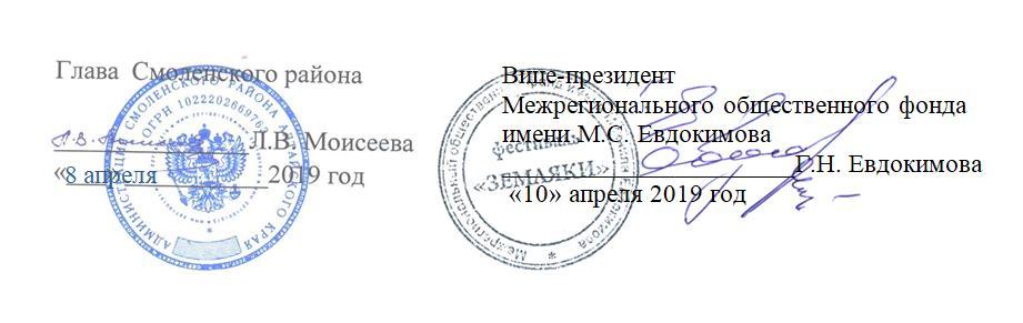 Подписи и печати