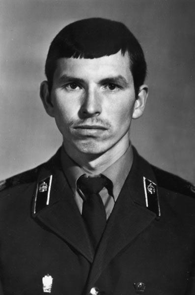Николай Мозымов в армии