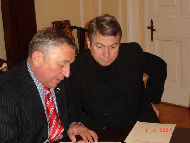 НИколай Харитонов и Сергей Чегодаев