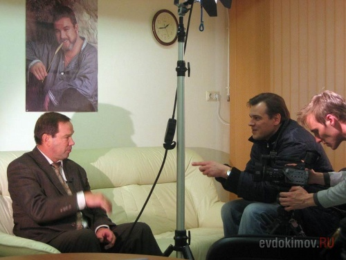 Интервью В. Шалимова