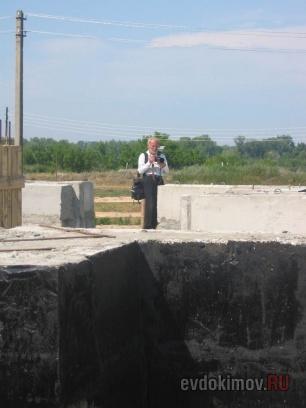 31 июля 2008 г. Освящение закладки храма 4