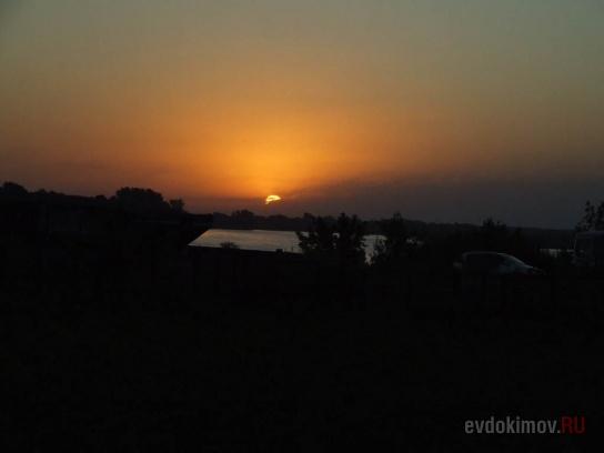 5 утра. 2 августа. Рассвет над Катунью.